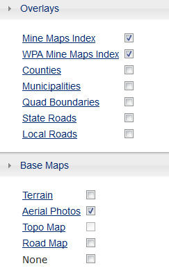 Pennsylvania Mine Map Atlas - Tutorial